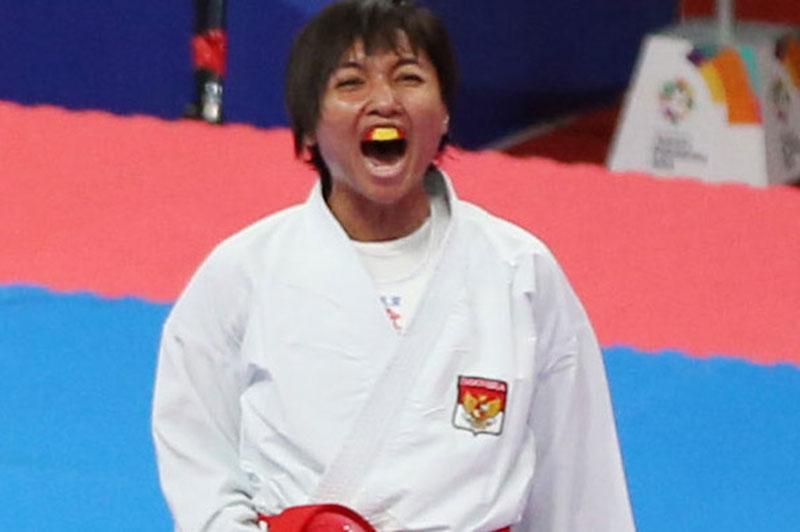 Indonesia Berharap Emas dari Ratu Karate Asia Tenggara
