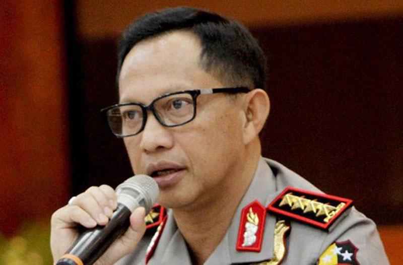 Kapolri Ganti Kapolda Riau