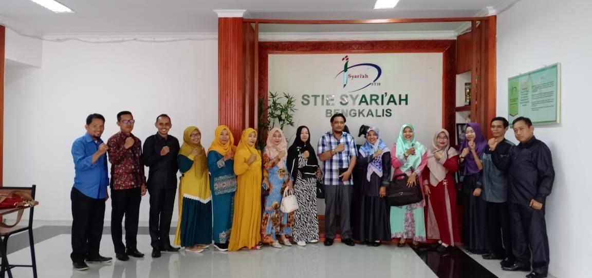 STAI Ar Ridho MoU dengan STIE Syariah Bengkalis