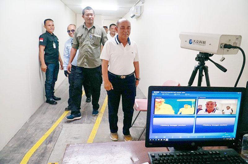Bupati Pelalawan Apresiasi Langkah RAPP Antisipasi Virus Corona