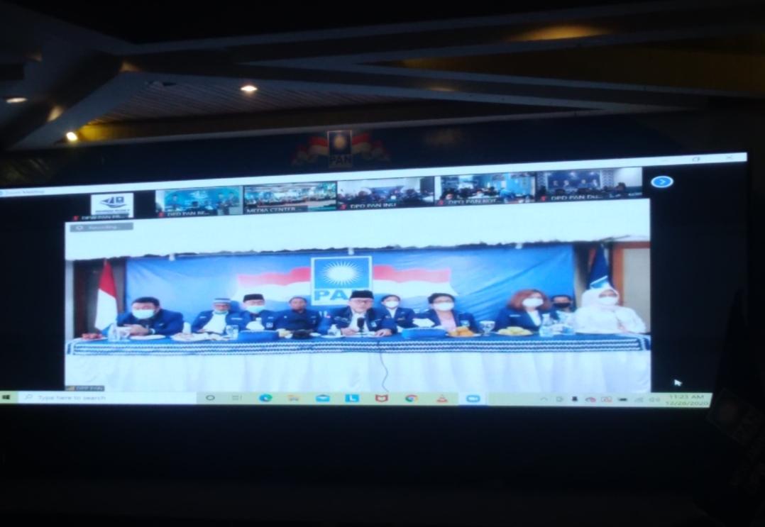 Sah! Alfedri Jabat Ketua DPW PAN Riau
