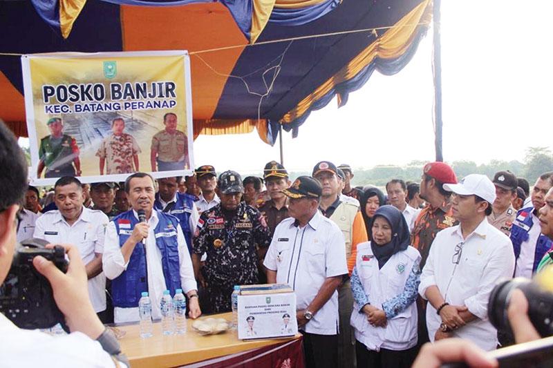 Komitmen Tingkatkan Derajat Kesehatan Masyarakat Riau