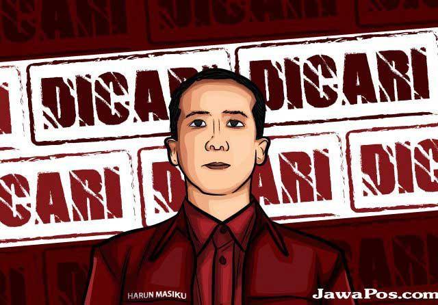 DPO, KPK Pajang Foto Harun Masiku di Website