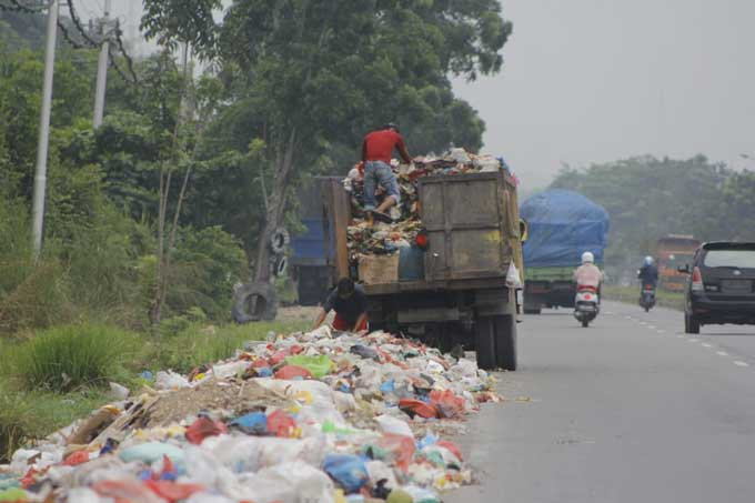 Ini Janji Pemko untuk Sampah di Pemukiman