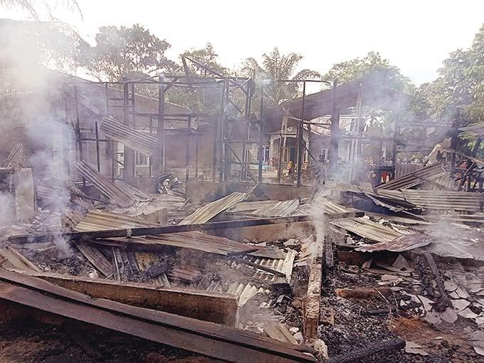 Rumah dan Pemilik Hangus Terbakar