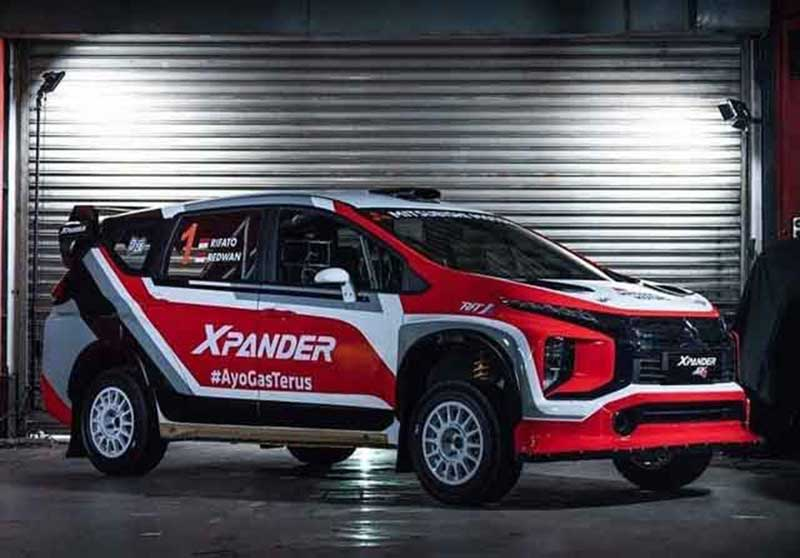 Ini Wujud Mitsubishi Xpander AP4 untuk Rally