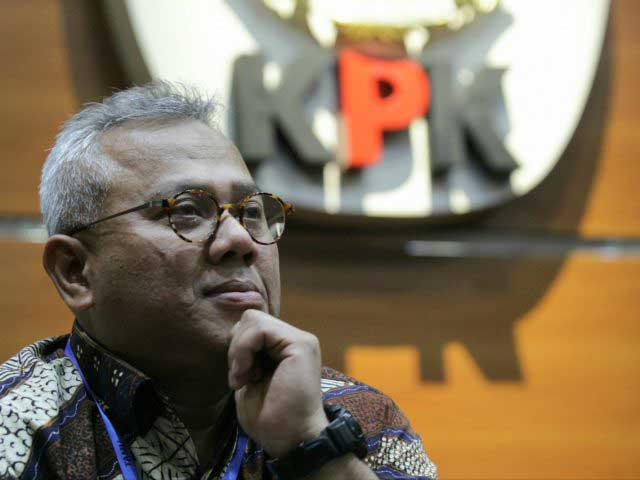 Ketua KPU Minta Maaf dan Lapor Jokowi