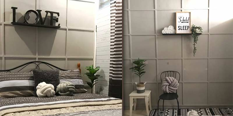 Pertegas Ruangan dengan Wall Molding