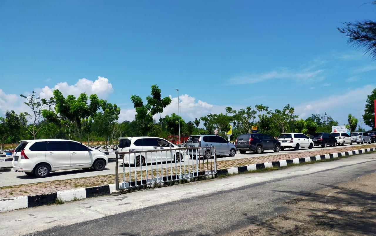 H+1 Lebaran Penyeberangan Normal, Sungai Pakning-Bengkalis Didominasi Roda Dua