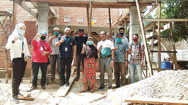 2.000 Rumah di Empat Kabupaten di Riau Direhab Kementerian PUPR