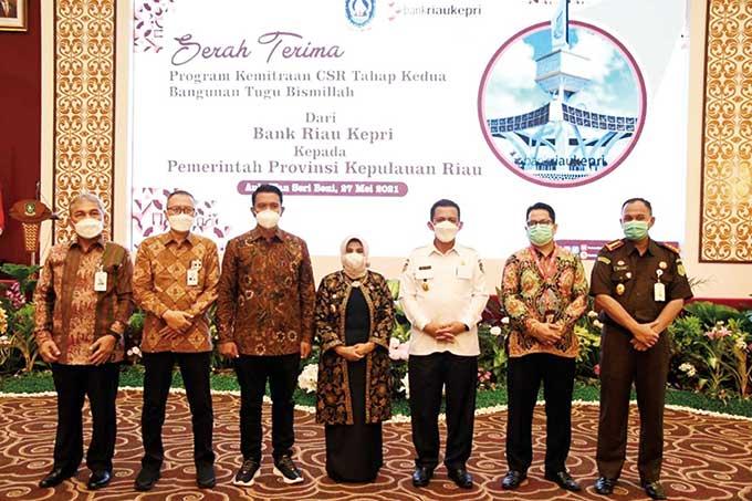 Bank Riau Kepri Komitmen Dukung Transaksi Pajak Online