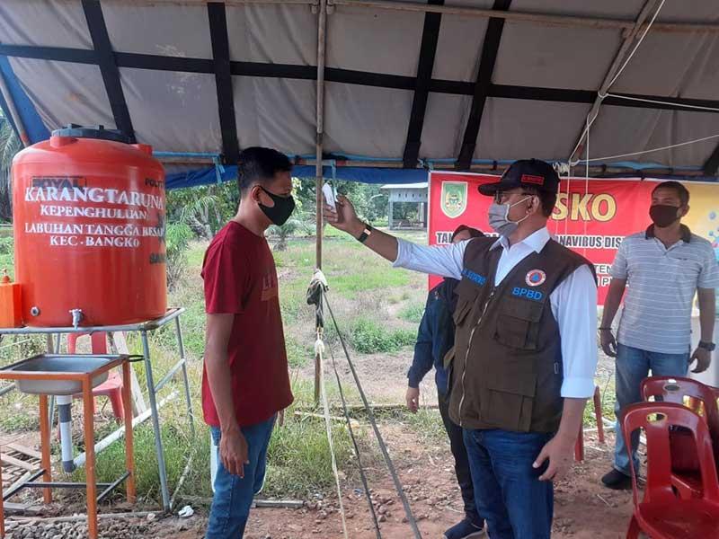 Bupati Rohil Apresiasi Kerja Keras Petugas di Posko