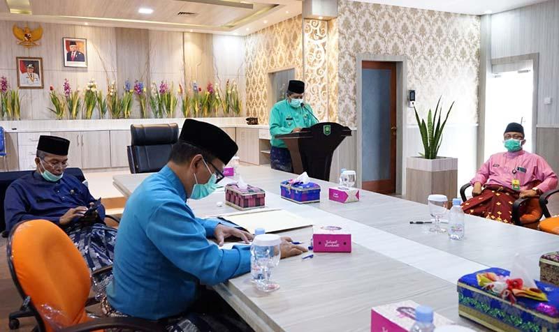 Banggar DPRD Setujui LPj APBD 2019