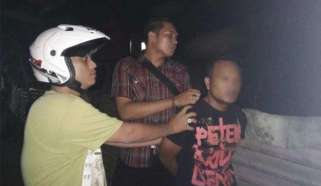 Dihampiri Polisi, Pengedar Buang Narkoba