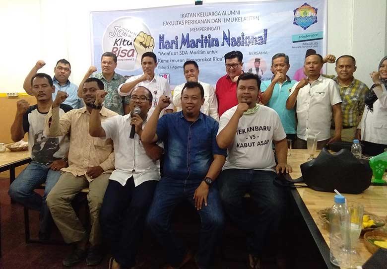 IKA Faperika Bedah Peran SDM Kelautan dan Perikanan di Riau