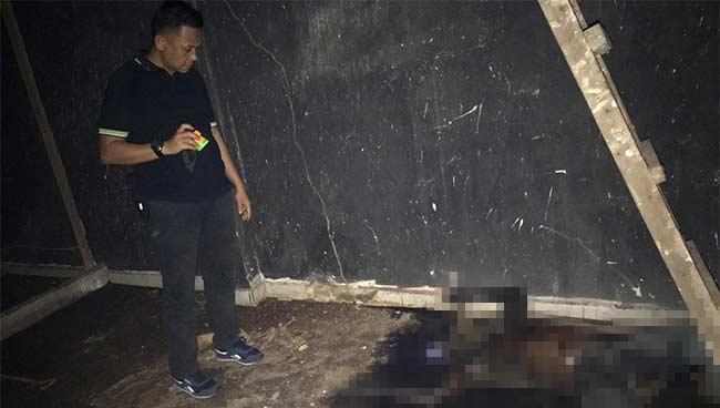 Mayat Lelaki Membusuk di  Ruko Sarang Walet