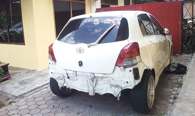 Mobil Dilarikan Karyawan Bengkel
