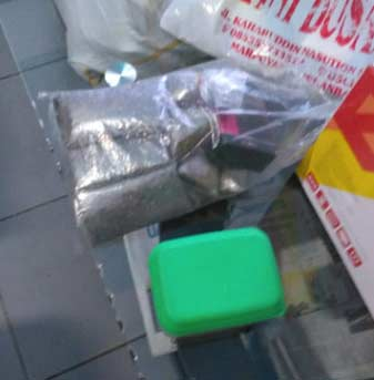 Ditemukan Paket  Ganja Kering  di Sel Lapas