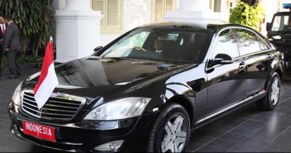 Mercedes Benz Sudah Siapkan Mobil Kepresidenan