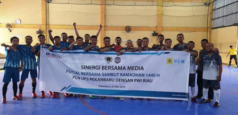 Silaturahmi dan Futsal  Bersama Sambut Ramadan