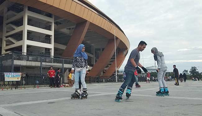 Harapkan Arena Khusus Sepatu Roda