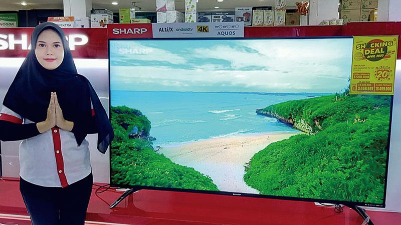 Beli Android TV 4K 70 Inci Dapat Gratis TV