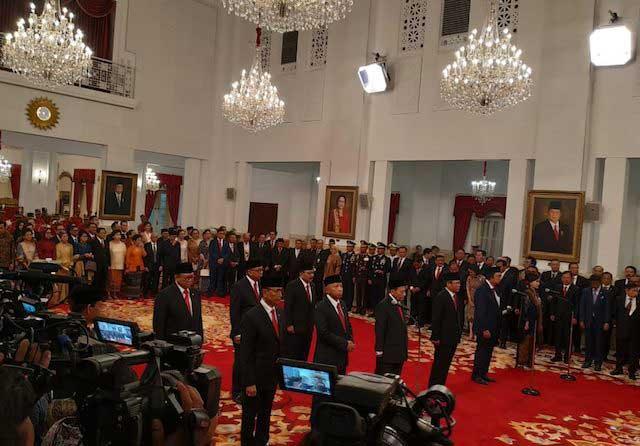 Jokowi Lantik 9 Anggota Wantimpres, Ketuanya Wiranto