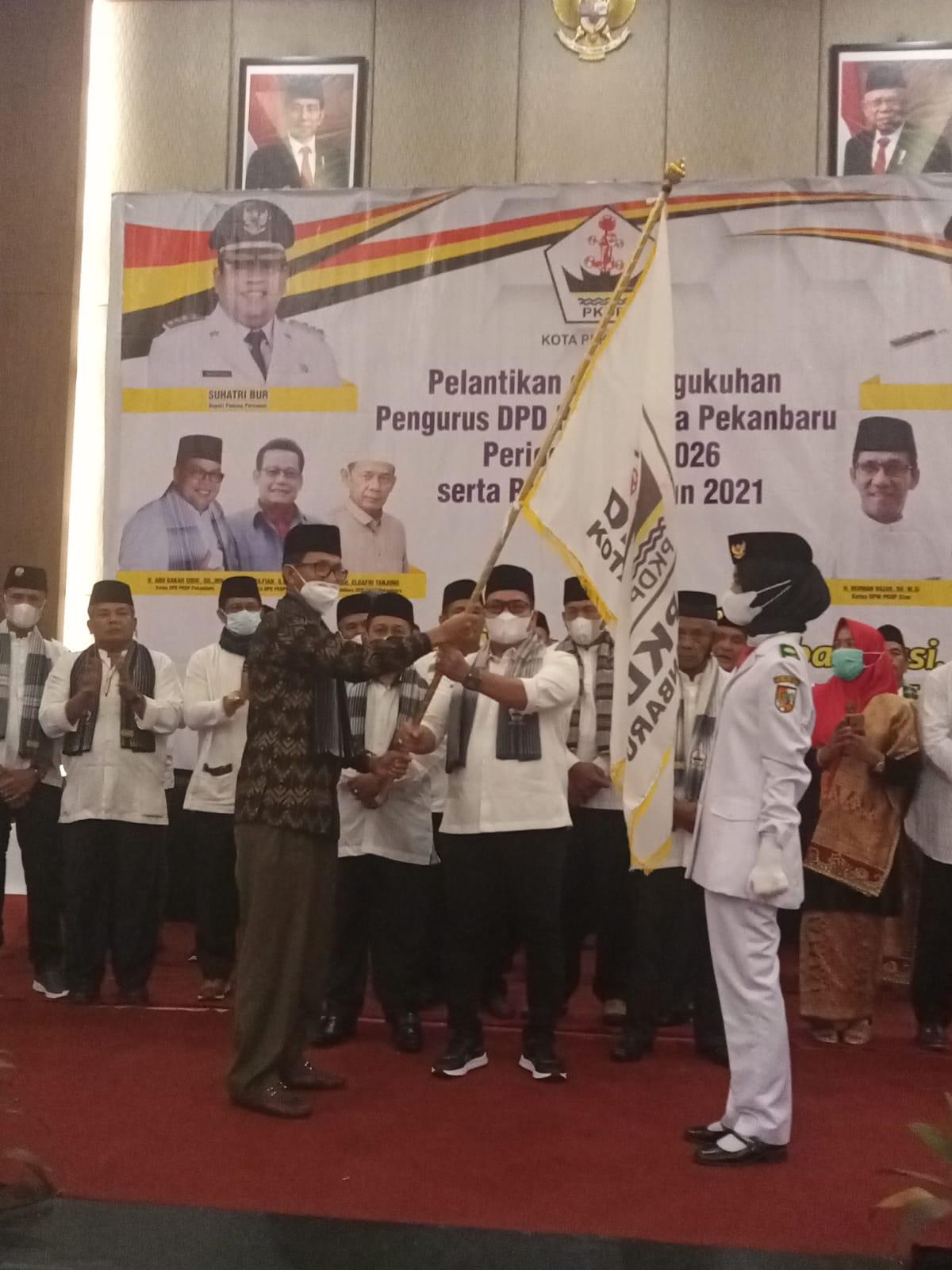 PKDP Kota Pekanbaru Resmi Dilantik