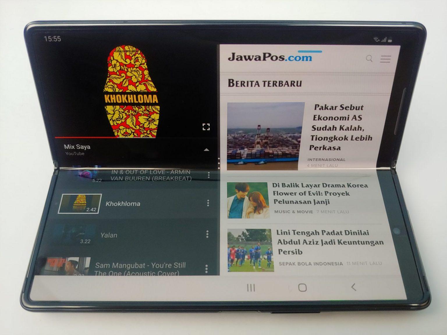 Galaxy Z Fold2 Seharga Rp33 Juta, Ini Keunggulannya