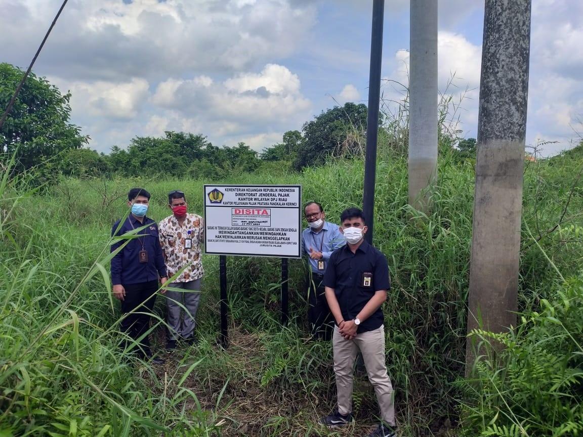Kanwil DJP Riau Sita Aset Penunggak Pajak Senilai Rp4,4 Miliar