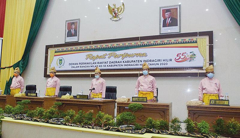 Milad Inhil, Ketua DPRD Puji Keberhasilan Pemerintah Daerah