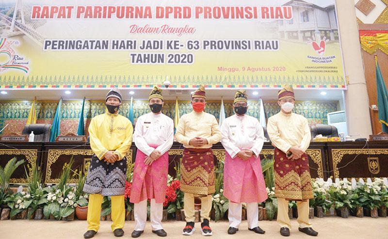 Riau Bermarwah Keinginan Bersama Bangun Riau
