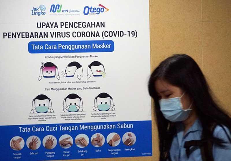 427 Warga di DKI Jakarta Positif Corona