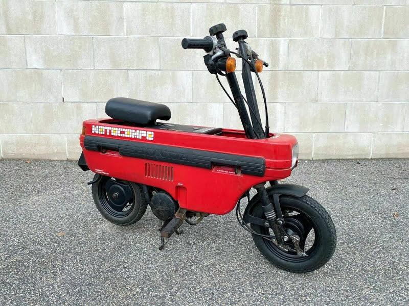 Honda Siap Produksi Lagi Motor Lipat Motocompo