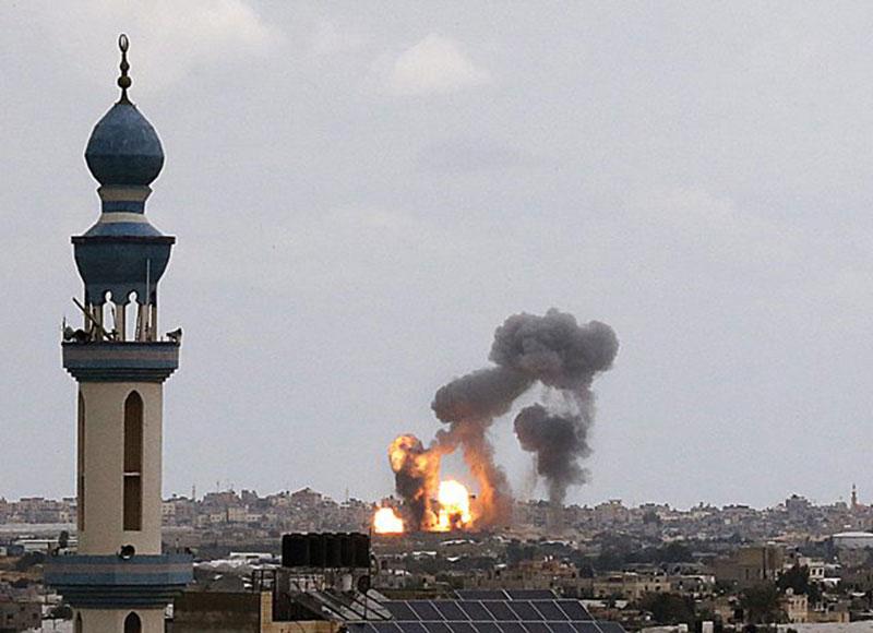 Israel dan Palestinian Islamic Jihad Saling Serang