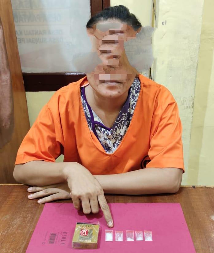 Edarkan Sabu, Eti Dibekuk Polisi