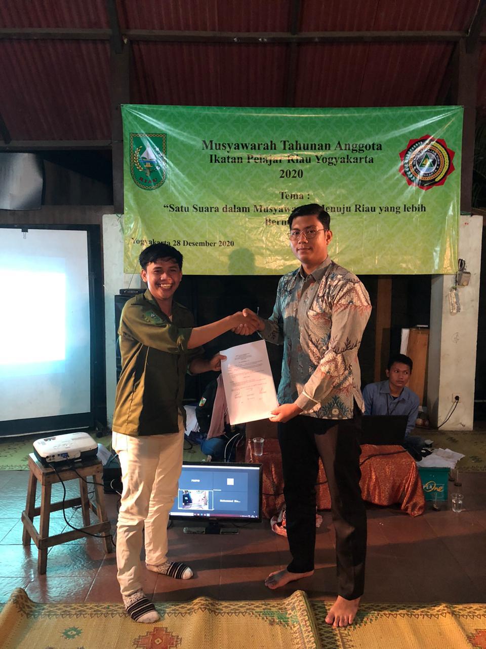 Pelajar Kuansing Jadi Ketua IPRY Riau