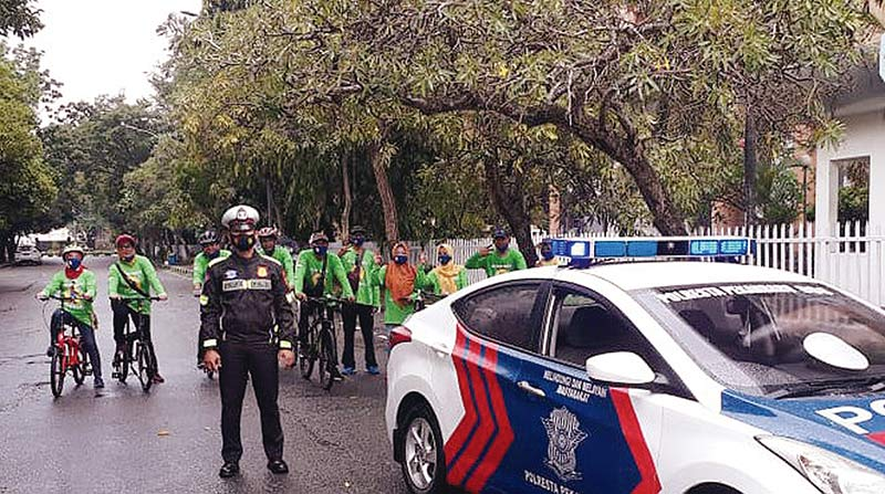 IKA SMPN 3 Gowes Sehat