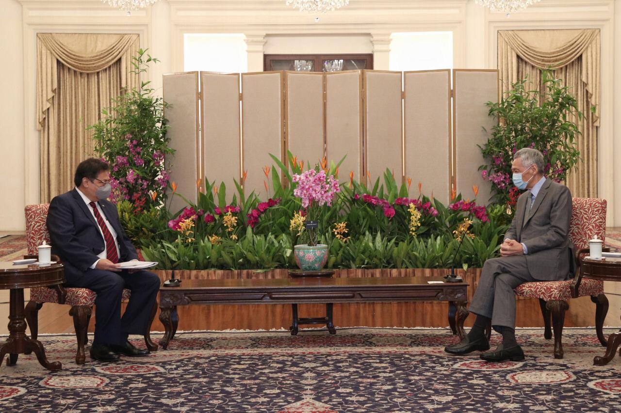 Komitmen RI-Singapura usai Pertemuan Airlangga dan PM Lee Hsien Loong