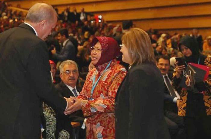 Jadi Inspirasi Perempuan Turki, Wali Kota Risma Bertemu Erdogan