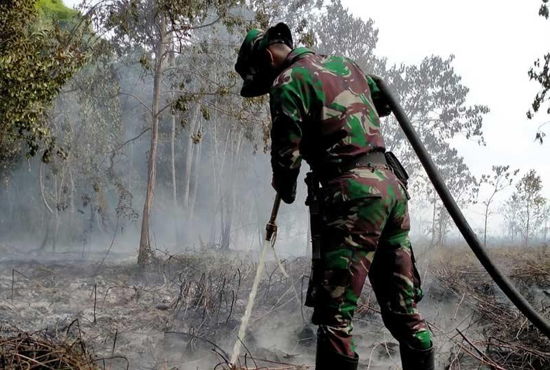 Titik Api di Pulau Rangsang Padam