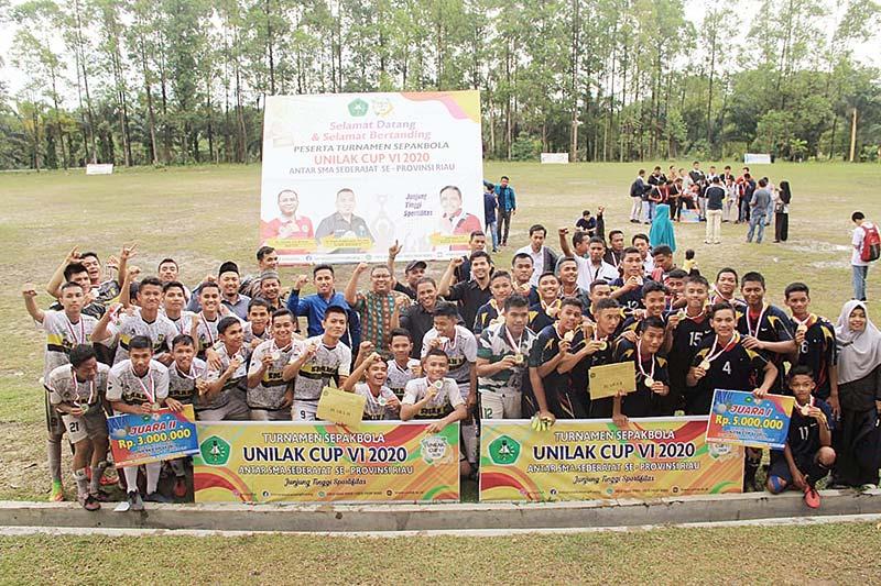 SMK 5 Juara Unilak Cup 2020