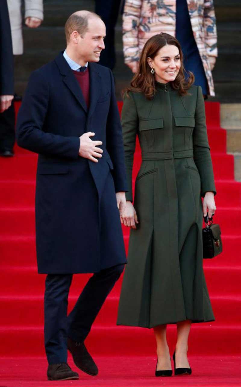 Kate Middleton Makin Mempesona dengan Coat Warna Hijau Lumut