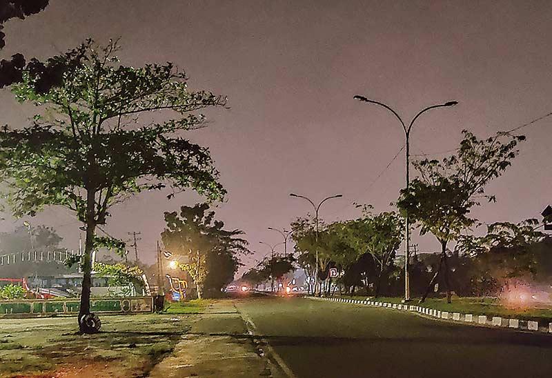 Jalan SM Amin Ujung  Rawan Kriminalitas