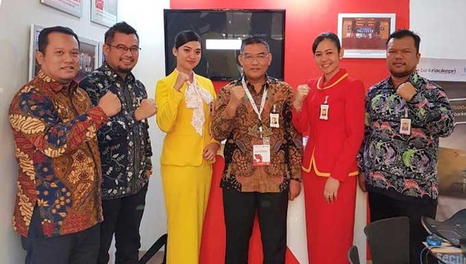 Bank Riau Kepri Ikut Pameran IBIC 2018