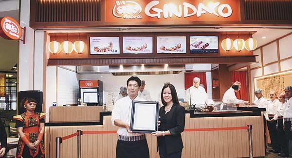 Kawan Lama Retail Hadirkan Gindaco ke Indonesia