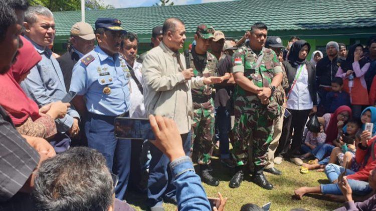Carter Pesawat, 140 Pengungsi Wamena Diterbangkan Langsung ke Padang