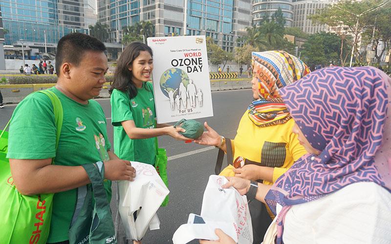 Sharp Indonesia Gerakkan Massa Peduli Lingkungan