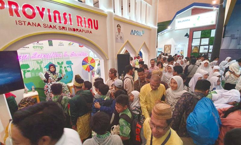 Stan Pemprov Riau Juara II di PLHK 2019