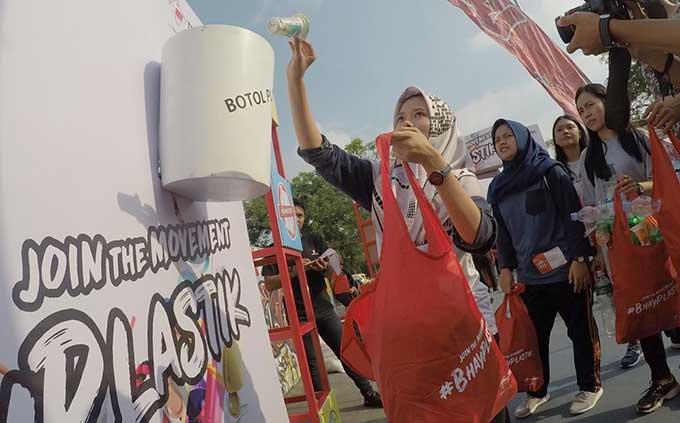 Inisiasi #BhayPlastik, Telkomsel Ajak Masyarakat Bijak Pakai Plastik